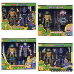 Figuras Tortugas Ninja Neca Comprar Donatello Krang
