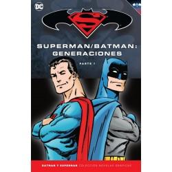 Batman y Superman. Colección Novelas Gráficas. Batman / Superman. Generaciones (Colección Completa)