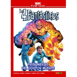 Marvel First Level 18. Los 4 Fantásticos: Prisioneros del Doctor Muerte