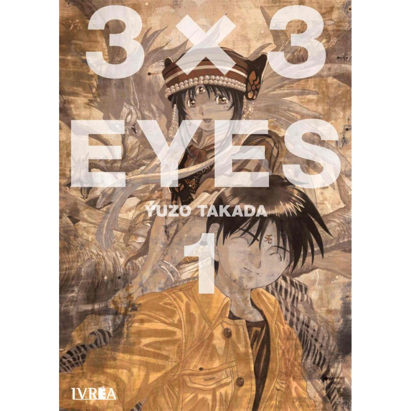 3 X 3 Eyes 1 Manga Ivrea
