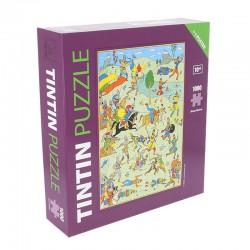 Puzzle Tintín Cetro de Ottokar Batalla de Zileheroum Comprar