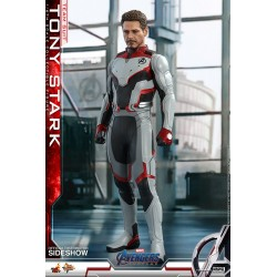 Hot Toys Tony Stark Team Suit Figura Avengers Endgame Comprar