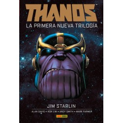 Thanos La Primera Nueva Trilogia Marvel Integral