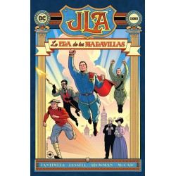 JLA. La Era de las Maravillas ECC Comics DC