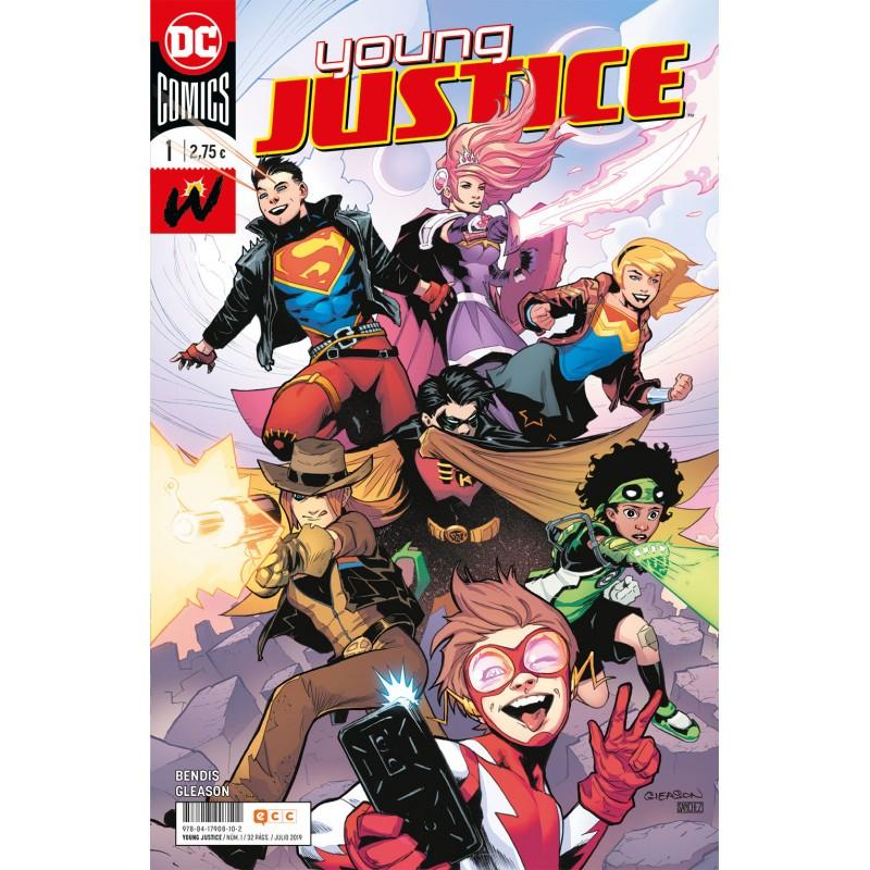 Young Justice 1 ECC Ediciones DC Comics