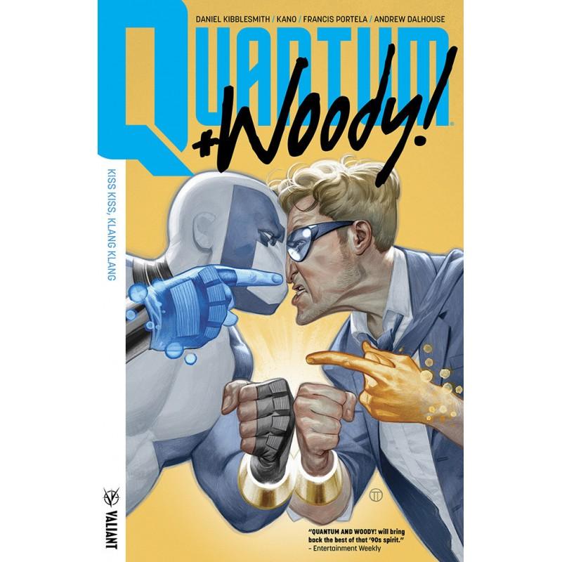 Quantum & Woody Tomo 1 Valiant Medusa Cómics Barcelona