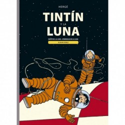 Tintín y la Luna Album Doble Comic