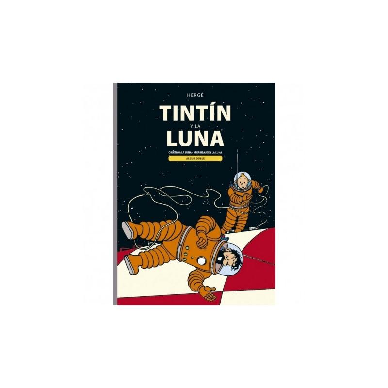 Tintín y la Luna Album Doble Comic