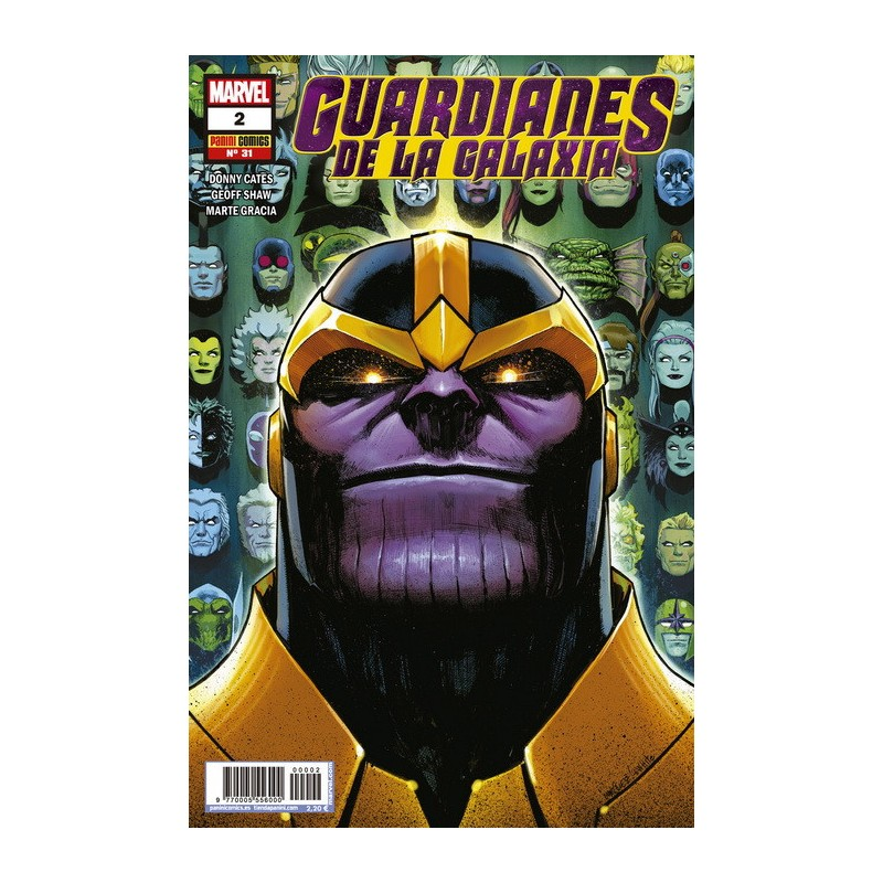 Guardianes de la Galaxia 65 Panini Comics Marvel
