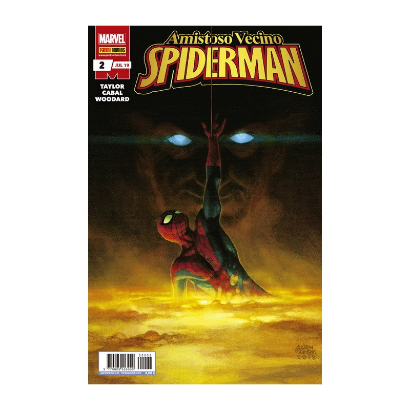 Amistoso Vecino Spiderman 2 Panini Comics