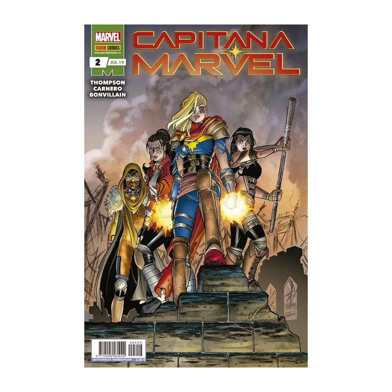 Capitana Marvel 2 Marvel Comprar Comics Panini