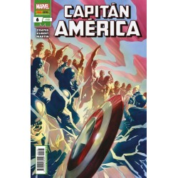 Capitán América 6 / 105 Panini Comics