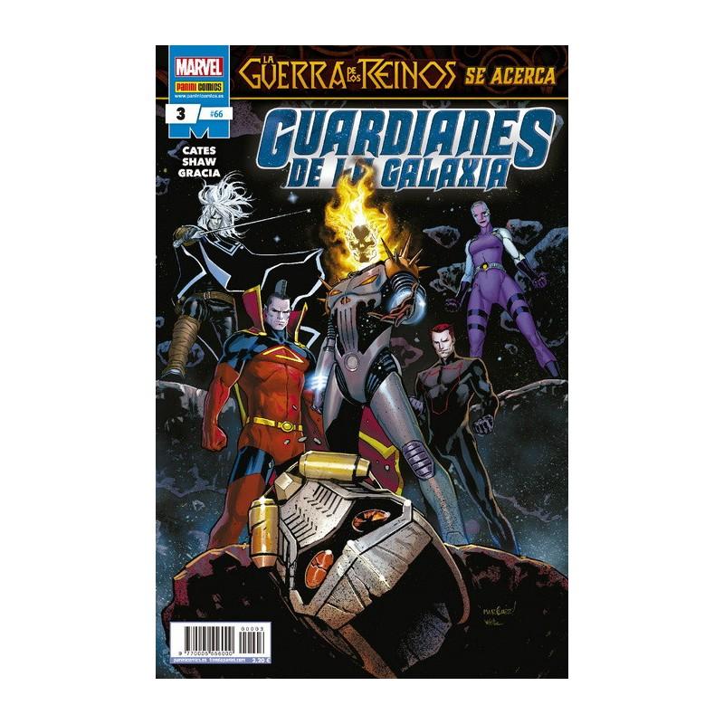 Guardianes de la Galaxia 66 Panini Comics Marvel