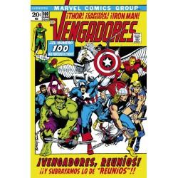 The Avengers 100 (Marvel Facsímil)