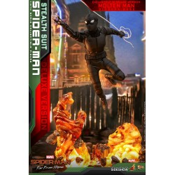 Hot Toys Spiderman Stealth Suit Deluxe Version Far From Home Lejos de Casa Figura Comprar
