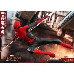 Figura Spider-Man Far From Home Upgraded Suit Hot Toys
