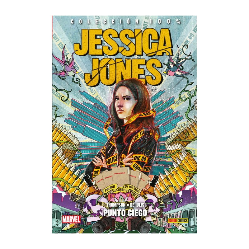 Jessica Jones 4. Punto Ciego (100% Marvel HC)