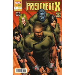 La Era de Hombre-X. Prisionero X 1