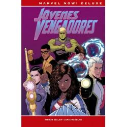 Jóvenes Vengadores de Gillen y McKelvie (Marvel Now! Deluxe)