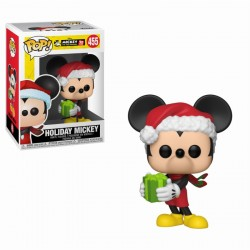 Mickey Mouse 90 Aniversario. Holiday Mickey Disney POP Funko 455 Comprar Figura