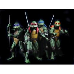 Figuras Tortugas Ninja 1990 Neca Comprar Set Completo