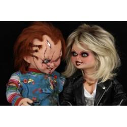 Pack Chucky y Tiffany Tamaño Real La Novia de Chucky (Neca)