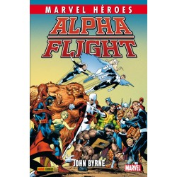 Alpha Flight de John Byrne 1 (Marvel Héroes 56)