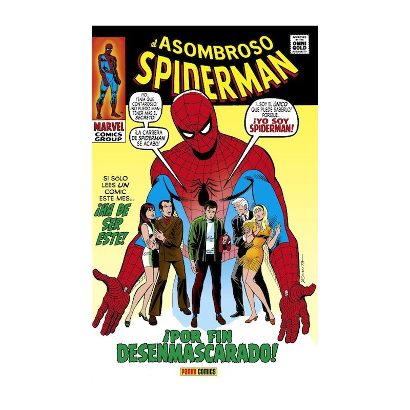 El Asombroso Spiderman 5. ¡Por Fin Desenmascarado! (Marvel Gold)