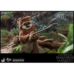 Figura Wicket El Retorno del Jedi Hot Toys Star Wars