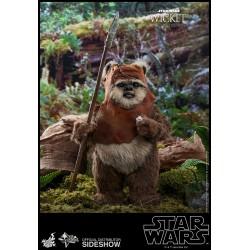 Figura Wicket El Retorno del Jedi Hot Toys Star Wars