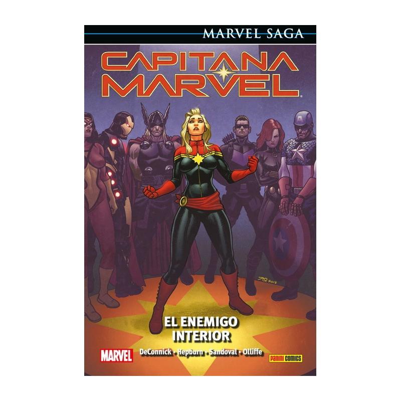 Capitana Marvel 3. El Enemigo Interior (Marvel Saga 87)