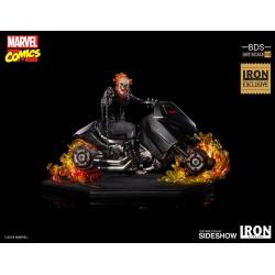 Ghost Rider Exclusive Iron Studios Estatua Comprar Motorista Fantasma