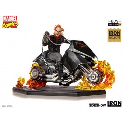 Ghost Rider Exclusive Iron Studios Estatua Comprar Motorista Fantasma