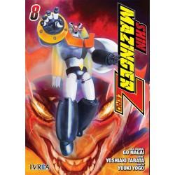 Shin Mazinger Zero 8 Manga Ivrea