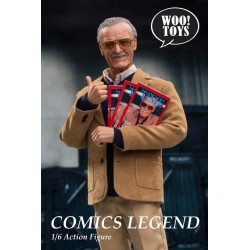Figura Stan Lee Woo Toys Comics Legend