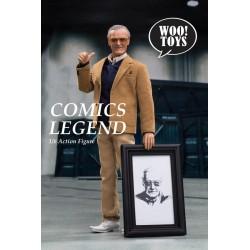 Figura Stan Lee Woo Toys Comics Legend