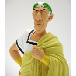 Astérix. Busto Cesar con Toga Amarilla (Attakus)