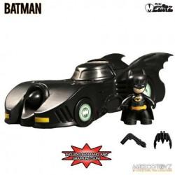 Figura Batman Batmobile 1989. Mezco Mini Mez-Itz Comprar