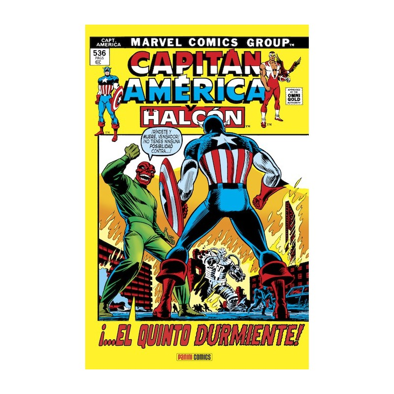 Capitán América y el Halcón 3. ¡El Quinto Durmiente! (Marvel Gold)