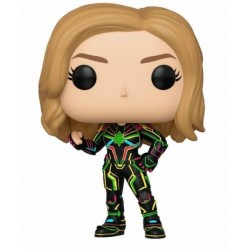 Capitana Marvel Neon Suit POP Funko