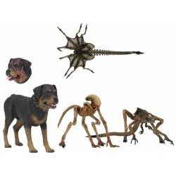 Pack Figuras Alien 3. Criaturas. NECA
