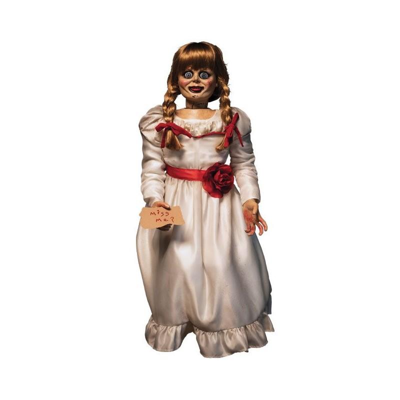 Figura The Conjuring Réplica Muñeca Annabelle Escala 1/1 Trick or Treat Studios