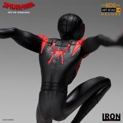 Estatua Miles Morales Spider-Man: Un Nuevo Universo (Iron Studios)