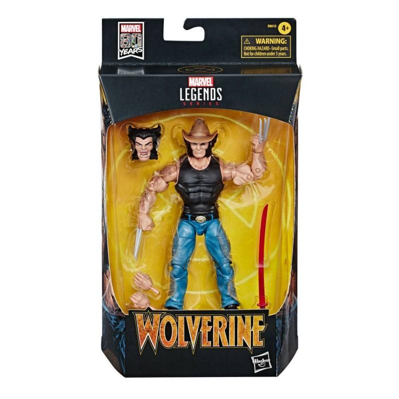 Figura Cowboy Logan Marvel Legends 80 Aniversario Comprar Hasbro