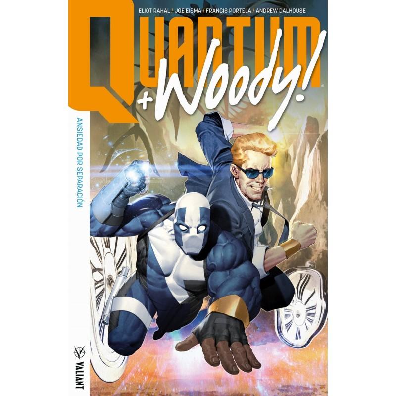 Quantum & Woody Tomo 2 Valiant Medusa Cómics Barcelona
