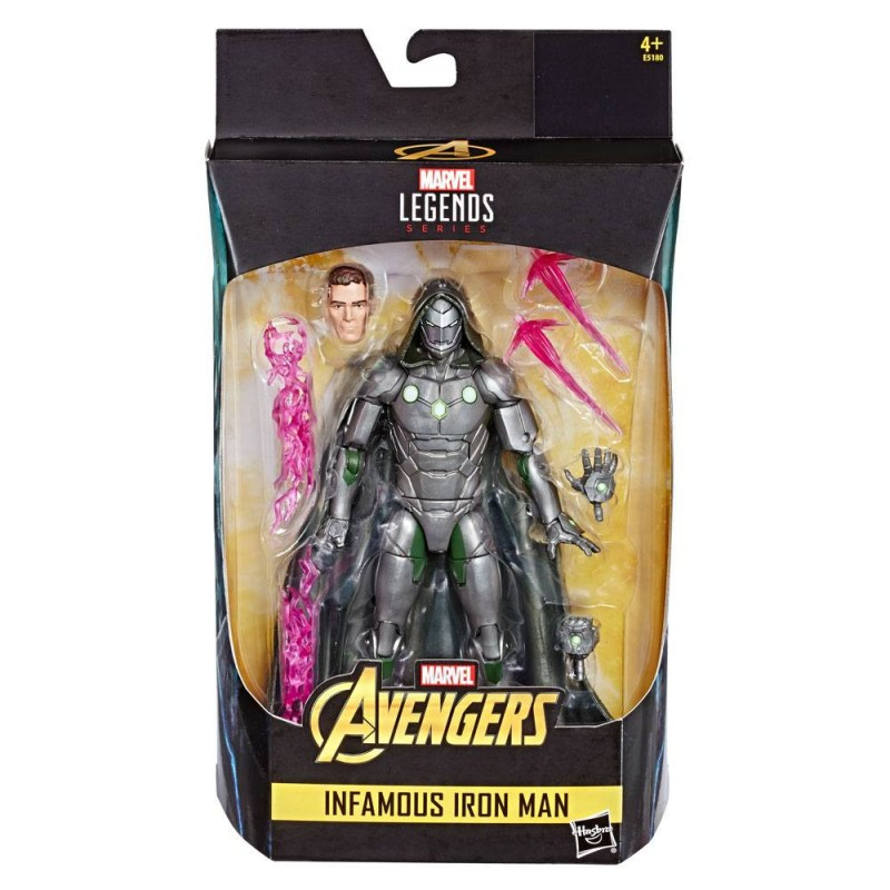 Figuras Infamous Iron Man (Marvel Legends)