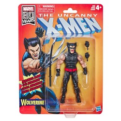 Figura Lobezno Uncanny X-Men (Marvel Legends Retro)