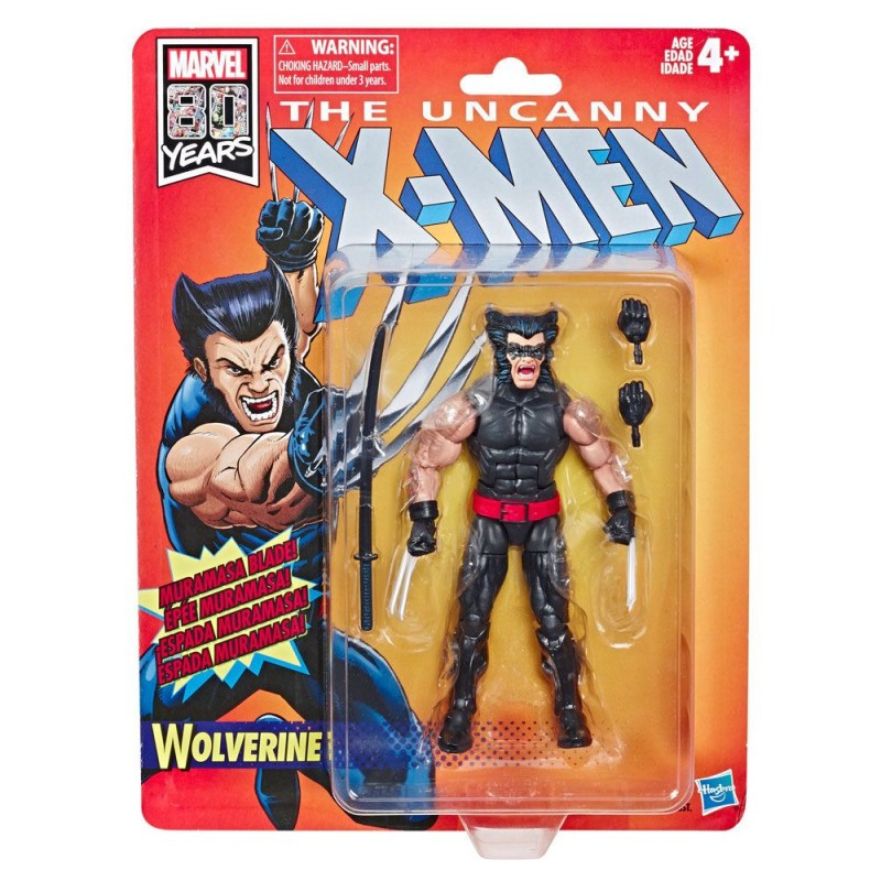 Figura Lobezno Uncanny X-Men (Marvel Legends Retro)