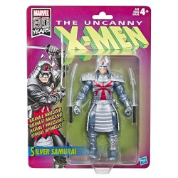 Figura Samurái de Plata Uncanny X-Men (Marvel Legends Retro)