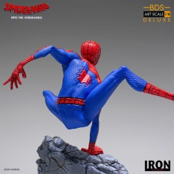 Estatua Peter B. Parker. Un Nuevo Universo Iron Studios